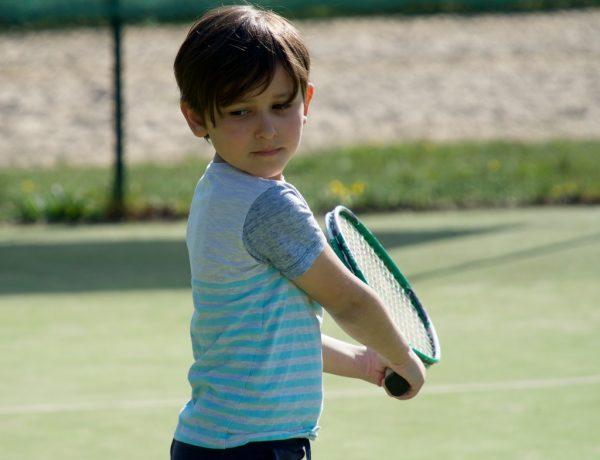 trening małego sportowca