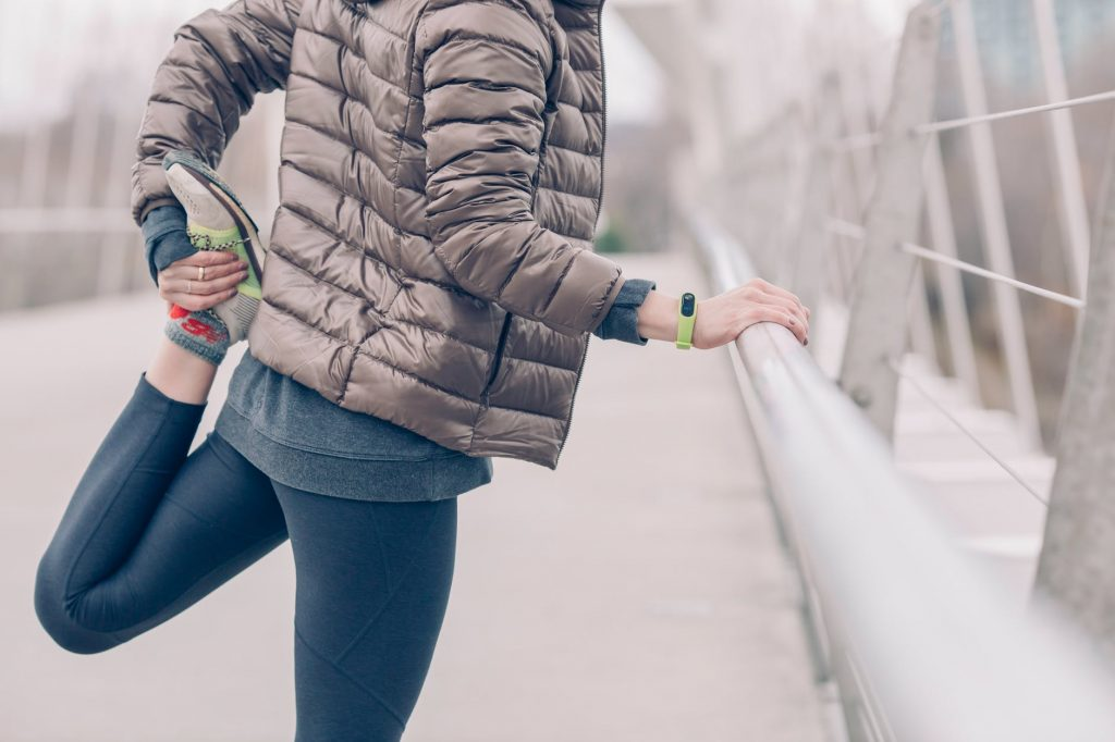 strój do biegania zimą