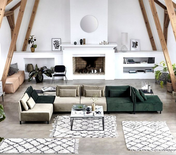 nowoczesny dywan